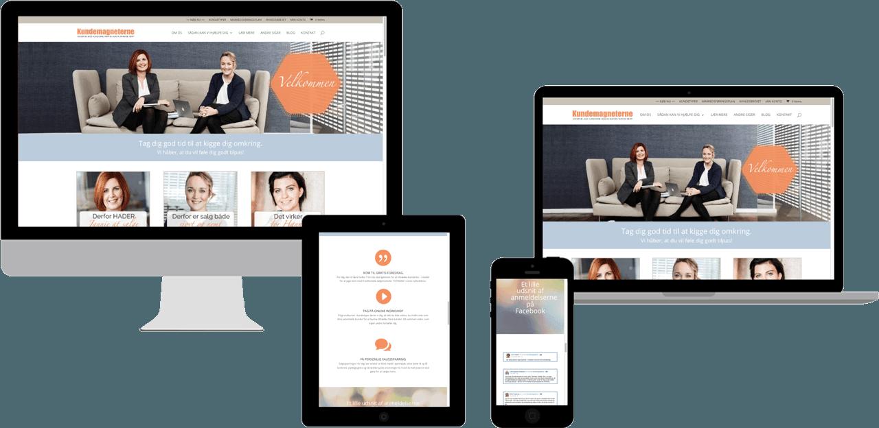 Kundemagneterne Webshop