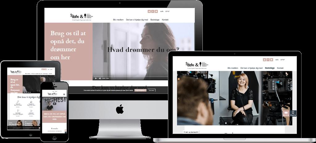 Din_Drom hjemmeside