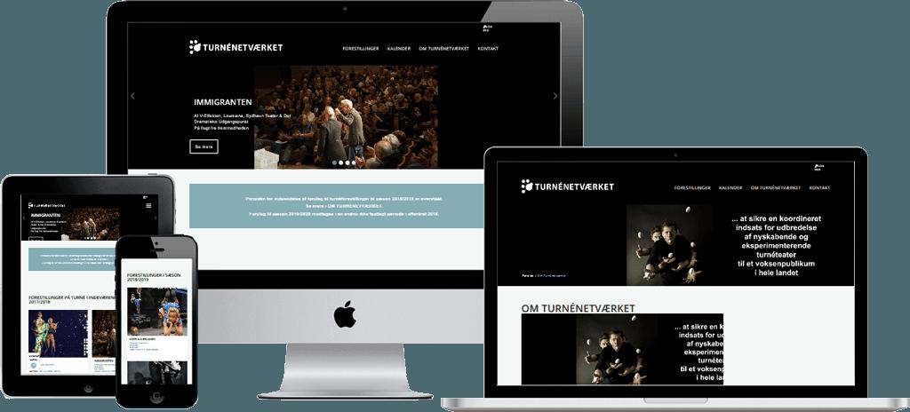 Turneteater hjemmeside
